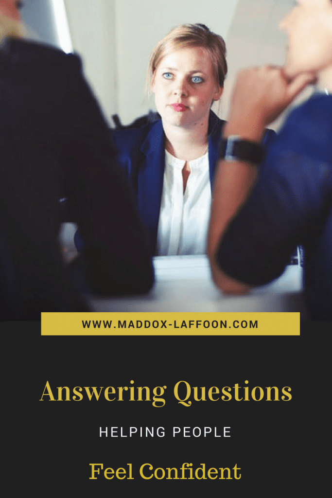 Answering Questions - Full Disclosure - Confident Cases